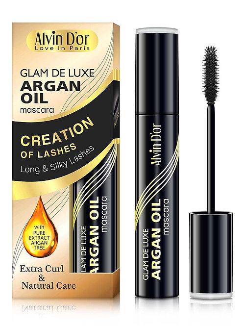 Alvin D'or, Тушь для ресниц Glam De Luxe argan oil