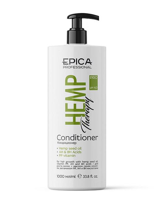 Epica Hemp therapy ORGANIC - Кондиционер для роста волос, 1000 мл
