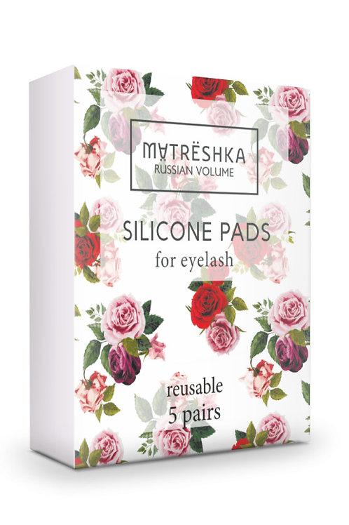 Matreshka Силиконовые валики для ресниц,  3 размера (S, M, L) - 5 пар (10 шт)