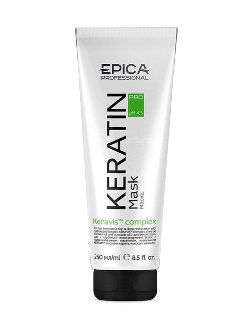 Epica KERATIN PRO - Маска для реконструкции и глубокого восстановления волос, ..