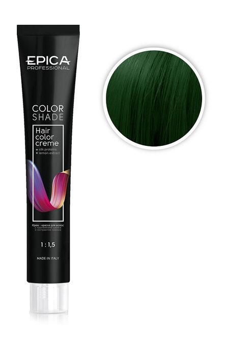 Epica Крем-краска  корректор Green зеленый 100 мл