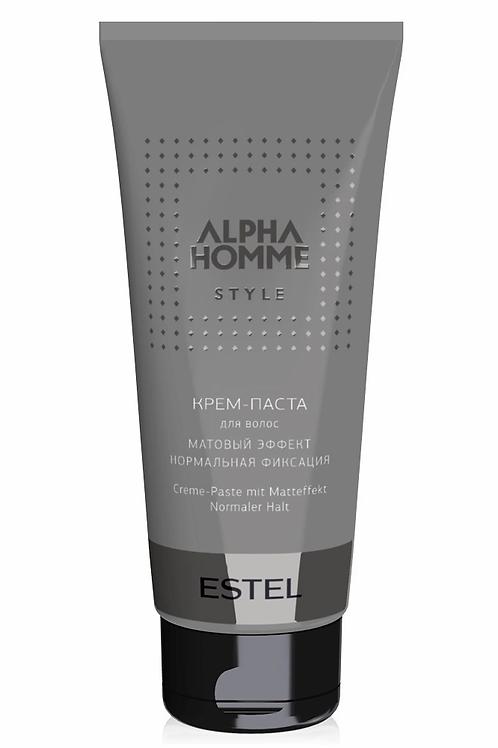 Estel Alpha Homme Крем-паста для волос с матовым эффектом 100 мл.