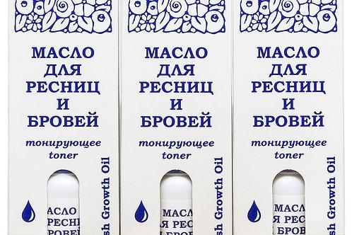 DNC, серия L'Or набор: Масло для ресниц и бровей тонирующее, 3 уп. по 15 мл и ..