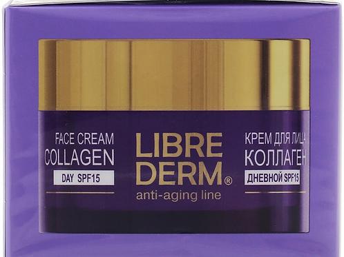 Крем Librederm Коллаген, дневной, для восстановления, сияния и ровного цвета к..