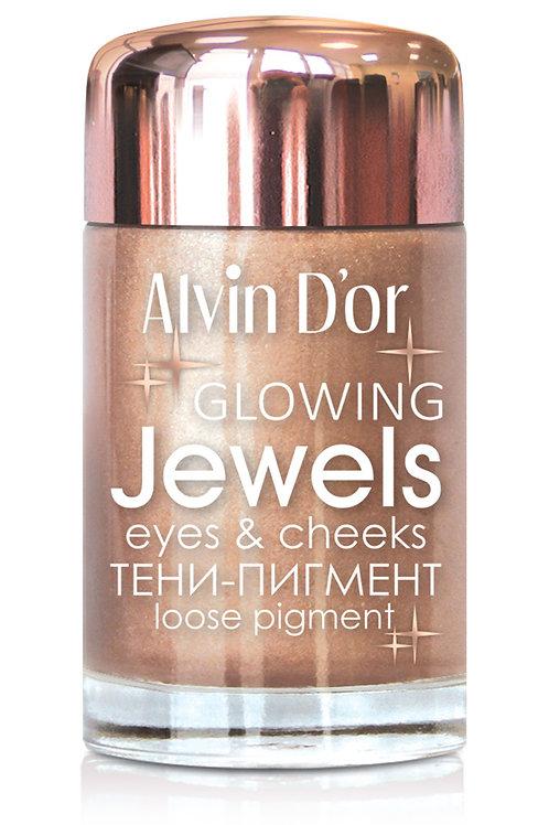 Alvin D'or ,Тени-пигмент д/век Jewels 3г.  02