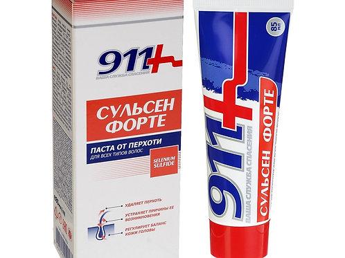 """911. Средство для волос """"Сульсен Форте"""" Паста от перхоти 85 мл. + Масло репейн.."""