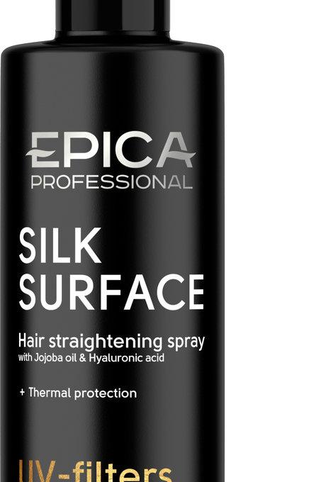 Epica Silk Surface Спрей разглаживающий с термозащитным комплексом, маслом жож..
