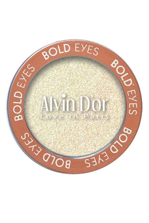 "Alvin D'or, Тени д/век ""Bold Eyes"" тон 01 white pearls (белый жемчуг)"