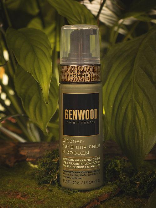 Estel Alpha Homme Genwood Cleaner-пена для лица и бороды 150 мл.