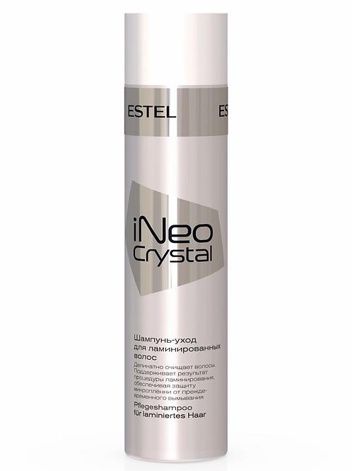 Estel Professional Шампунь-уход INEO CRYSTAL для ламинированных волос 250 мл