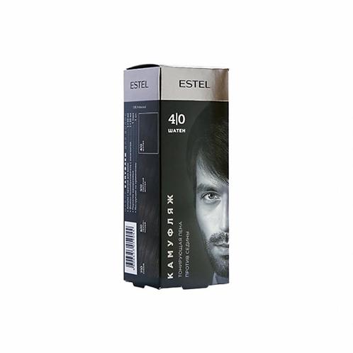 ESTEL AH4/K Набор для камуфляжа волос ALPHA HOMME 4/0