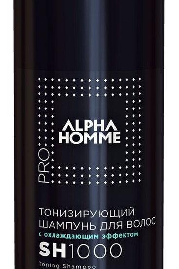 Estel Alpha Homme Шампунь тонизирующий с охлаждающим эффектом для волос и тела..