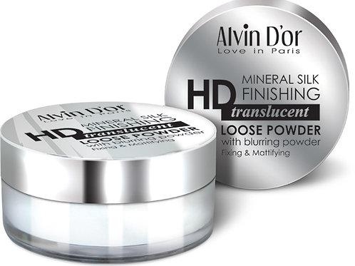 Alvin D'or, Пудра рассыпчатая Mineral Silk Finishing