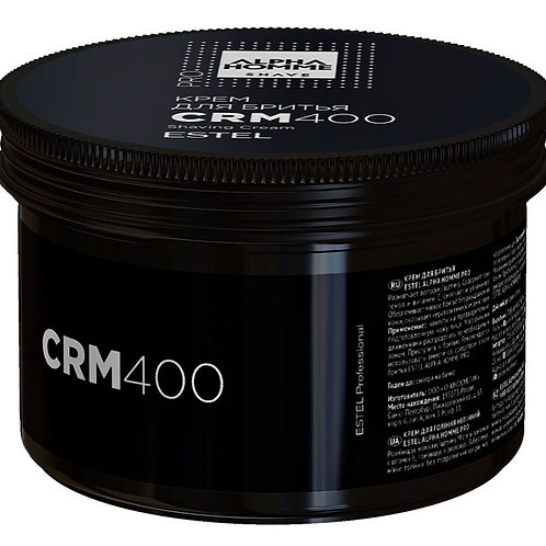 ESTEL PROFESSIONAL Крем для бритья ALPHA HOMME PRO, 400 мл