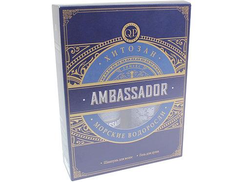 """Тимекс, подарочный набор для мужчин, """"Ambassador"""" морские водоросли, шампунь д.."""