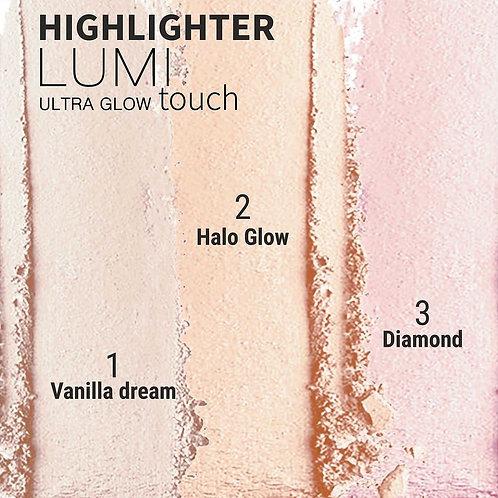 Belor Design Хайлайтер Lumi touch, тон 2 Halo Glow, 3,5г