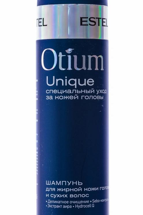 Estel Otium Unique Шампунь для жирной кожи головы и сухих волос 250 мл