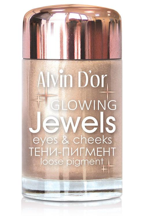 Alvin D'or ,Тени-пигмент д/век Jewels 3г.  01
