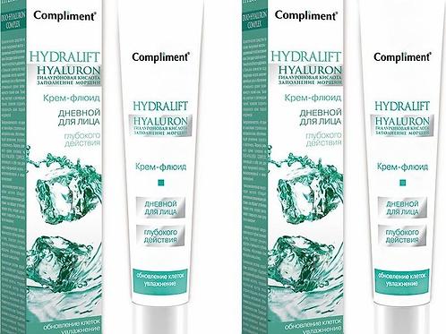 Compliment Hydralift Hyaluron Дневной крем-флюид глубокого действия для лица, ..