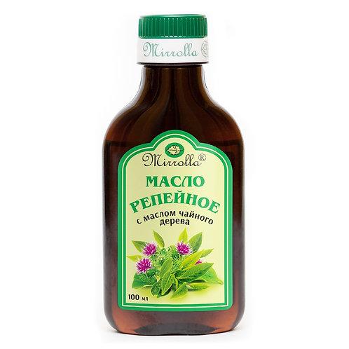 Mirrolla Репейное масло для волос, с маслом чайного дерева, 100 мл
