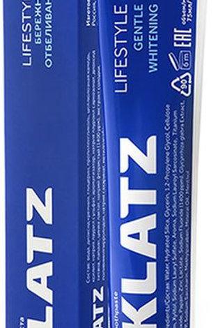 Зубная паста Klatz Lifestyle Бережное отбеливание, 75 мл