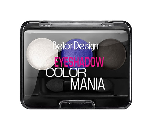 Belor Design Тени для век Smart Girl COLOR MANIA тон 33