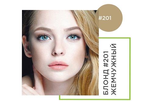 BrowXenna Хна для бровей Блонд #201, Жемчужный, (флакон)