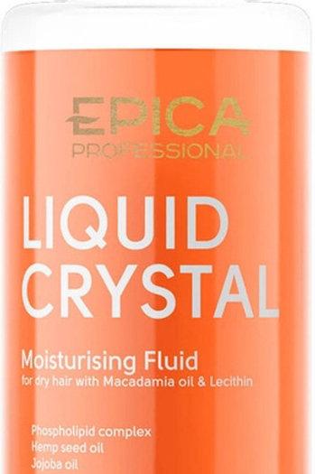 Epica Liquid Crystal Флюид для увлажнения и защиты сухих волос, с маслом макад..