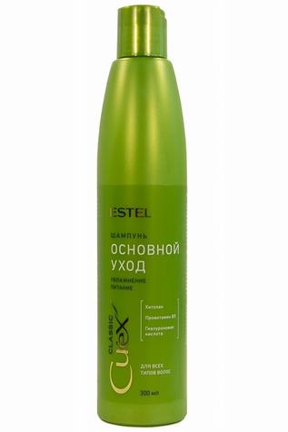 CUREX CLASSIC Основной уход Шампунь для всех типов волос, 300 мл