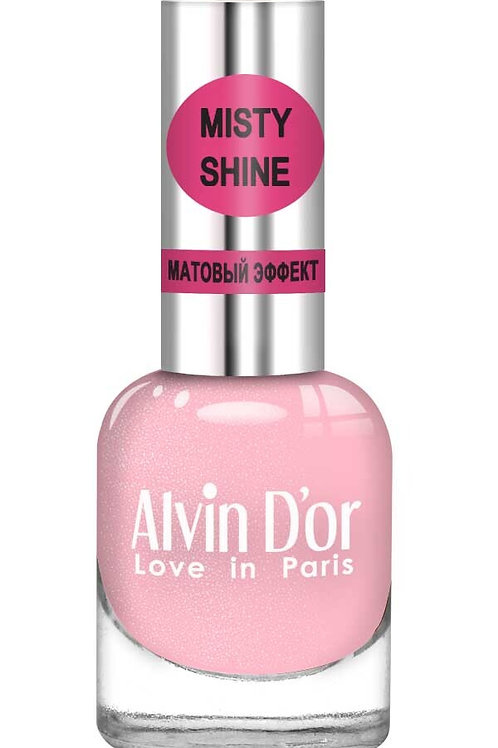 "Alvin D'or Лак д/ногтей Misty shine тон 505 ""Розовый бант"""