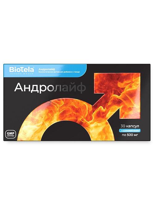 BioTela Андролайф Мужское здоровье  , 30 капсул, месячный курс