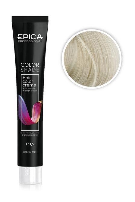 Epica Крем-краска специальный блонд пепельный, 12.10 100 мл