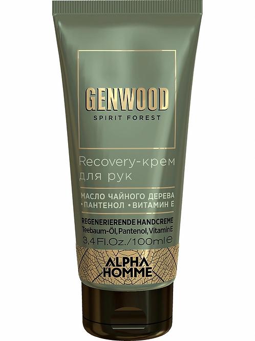 Estel Alpha Homme Genwood Recovery-крем для рук 100 мл.