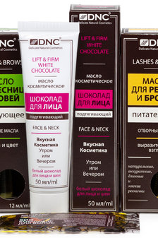 DNC набор: Масло для ресниц и бровей питательное, 12 мл, Масло для ресниц и бр..