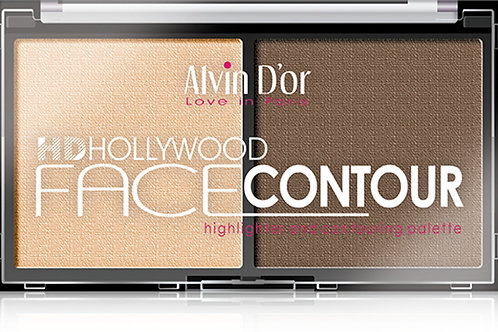 Alvin D'or, Пудра скульптурирующая для лица Hd hollywood highlighter and conto..