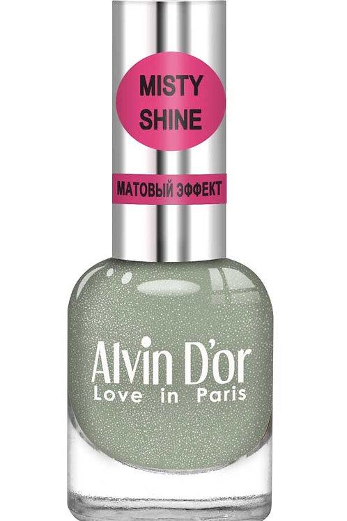 """Alvin D'or Лак д/ногтей Misty shine тон 509 """"Черный оникс"""""""