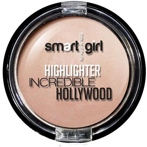 Belor Design Хайлайтер Smart girl Incredible Hollywood, тон 2, жемчужно-розовый