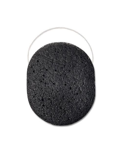 BEAUTIFIC Конжаковый спонж (конняку) для макияжа и очищения лица BLACK SPONGE ..