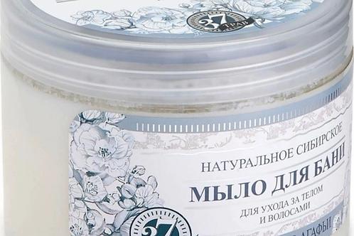 """Мыло для бани и душа Рецепты Агафьи """"Белое мыло"""" 500 мл"""