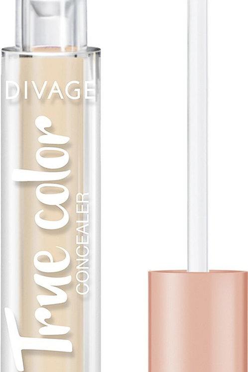 Divage Concealer True Color Консилер, для лица, универсальный, тон 01N