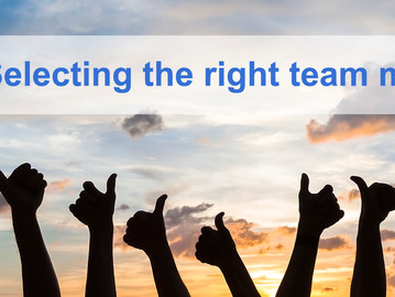 Selecting The Right Team Member