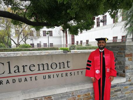 Say hello to DOCTOR Ali Bazarah!