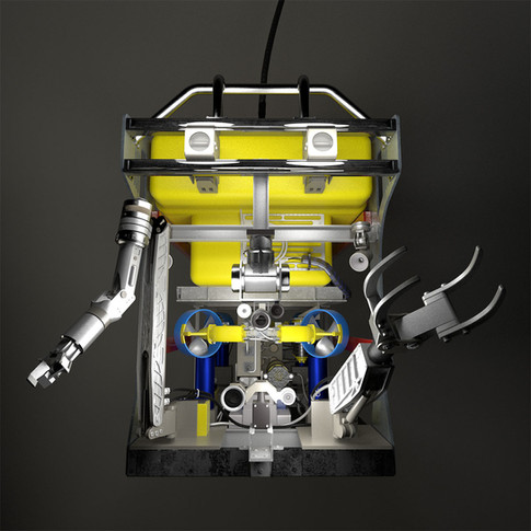 ROV in operation