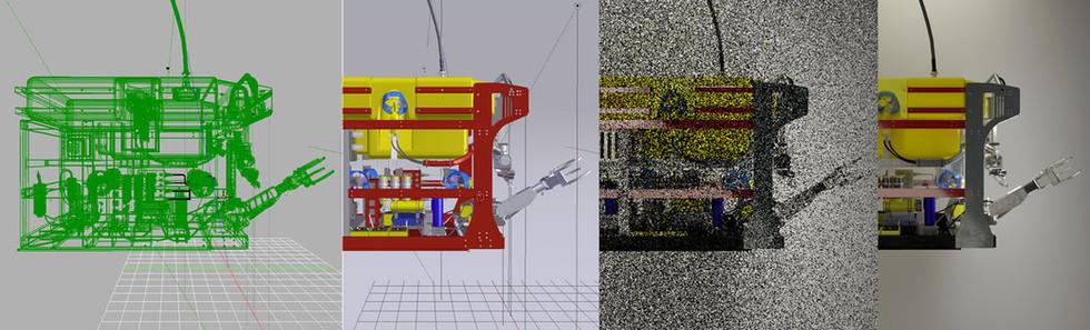 Development of the ROV model