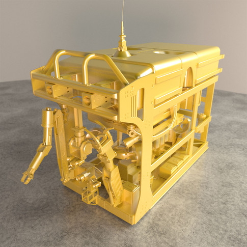 Untextured ROV model