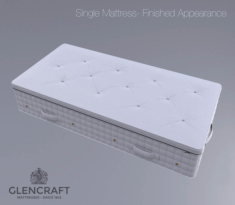 Glencraft Heritage mattress DPM Jamie Cameron