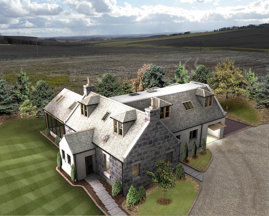 Overview of converted steading