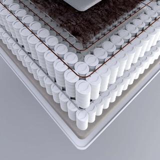 Detail of mattress components