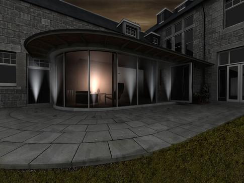 Exterior lighting scheme proposal
