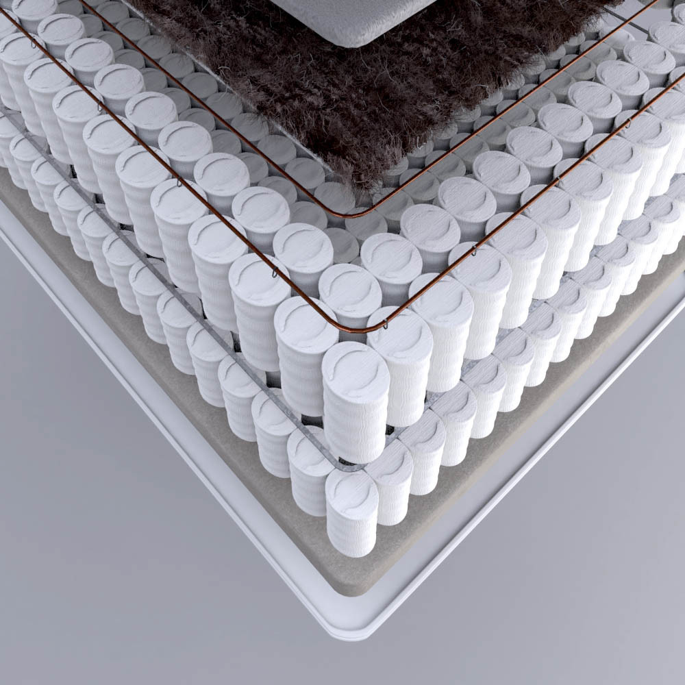 Glencraft single mattress DPM Jamie Cameron